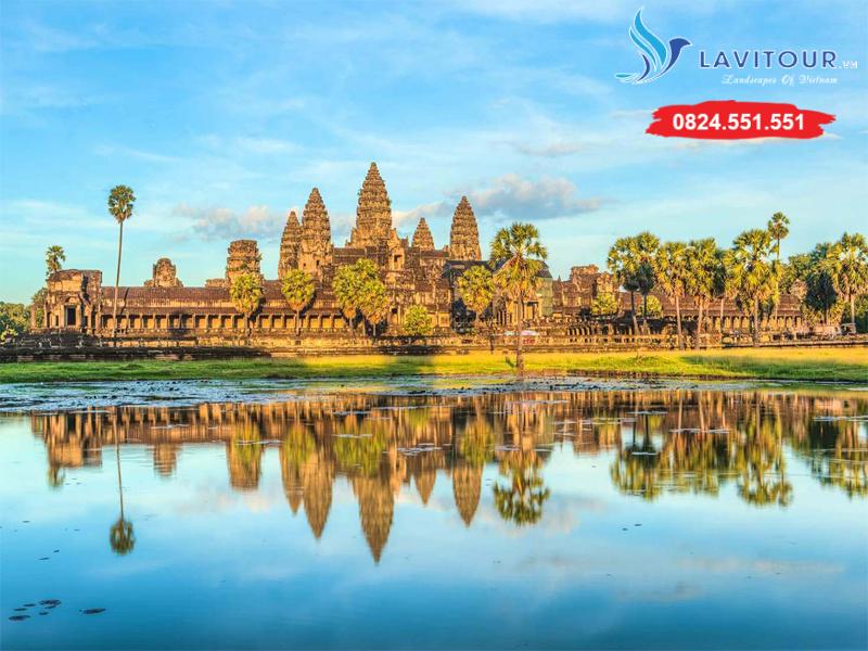 Tour Campuchia - Angkok Huyền Thoại 4n3đ 1