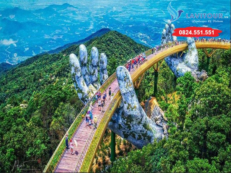 Tour Đà Nẵng - Hội An - Bà Nà Hills - Huế 4n3đ 2