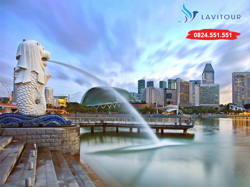 Tour Singapore - Sentosa - Sea Aquarium 3n2đ 1