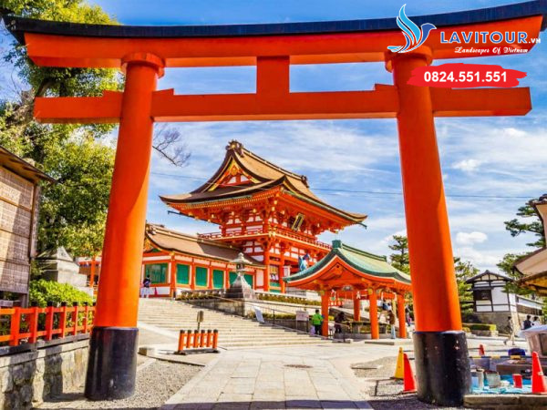 TOUR NHẬT BẢN - KANSAI - KYOTO - OSAKA 4N4Đ 7