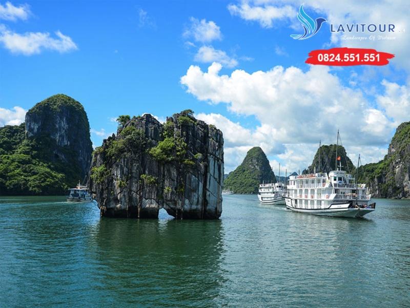 Tour Sài Gòn - Hà Nội - Vịnh Hạ Long 3n2đ 6