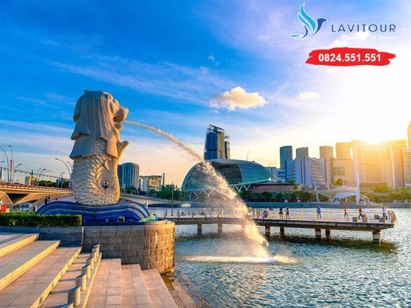 Liên Tuyến Singapore - Malaysia - Indonesia 6n5đ 2
