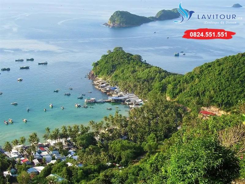 Tour Đảo Nam Du - Hòn Mấu - BBQ Hải Sản 2n2đ 2