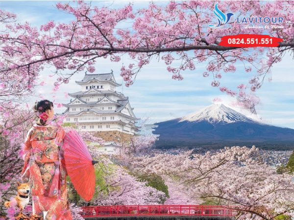 TOUR NHẬT BẢN - KANSAI - KYOTO - OSAKA 4N4Đ 1