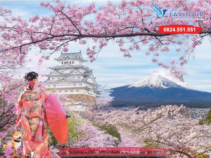 Tour Nhật Bản - Kansai - Kyoto - Osaka 4n4đ 1