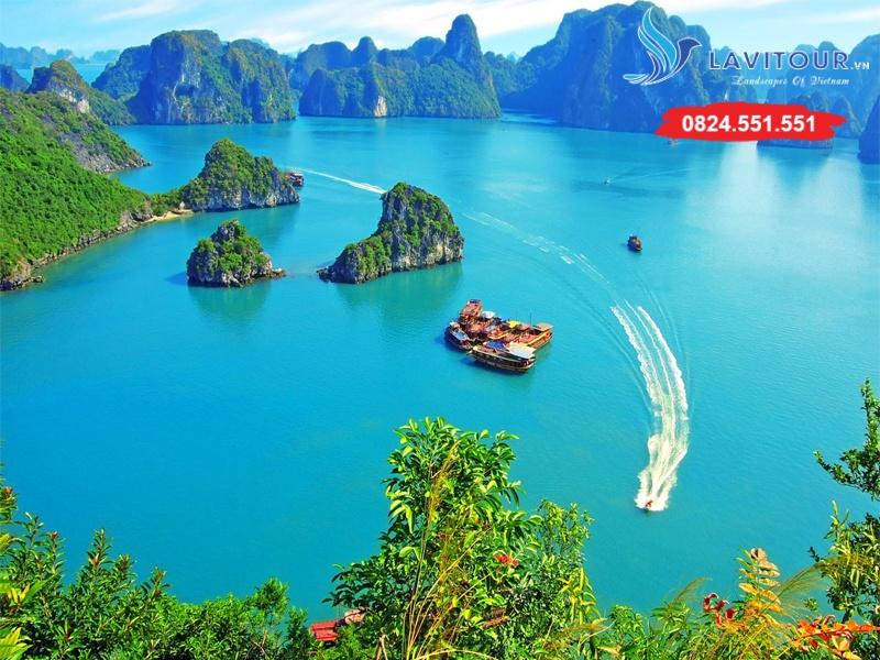 Tour Sài Gòn - Hà Nội - Vịnh Hạ Long 3n2đ 5