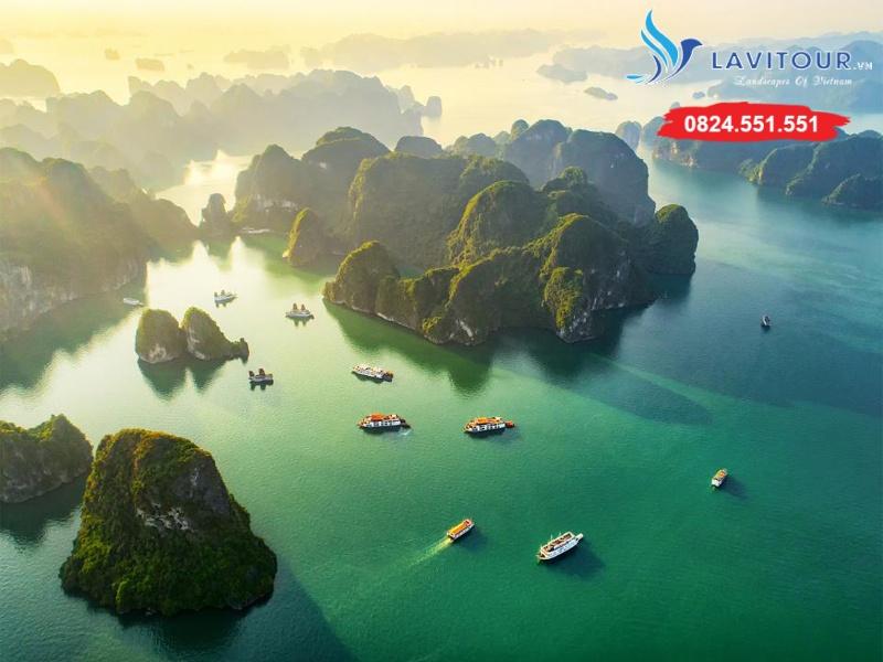 Tour Sài Gòn - Hà Nội - Vịnh Hạ Long 3n2đ 1
