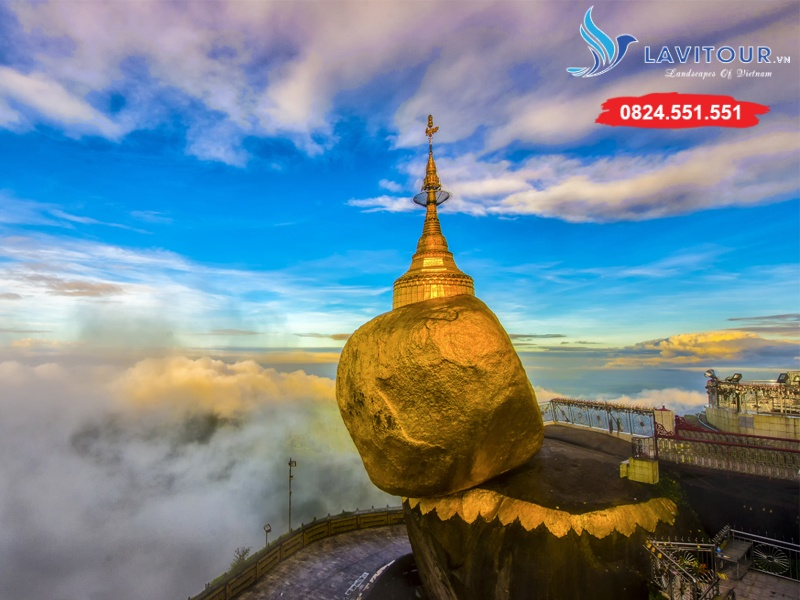 Tour Myanmar - Yangon - Về Miền Đất Phật 4n3đ 5