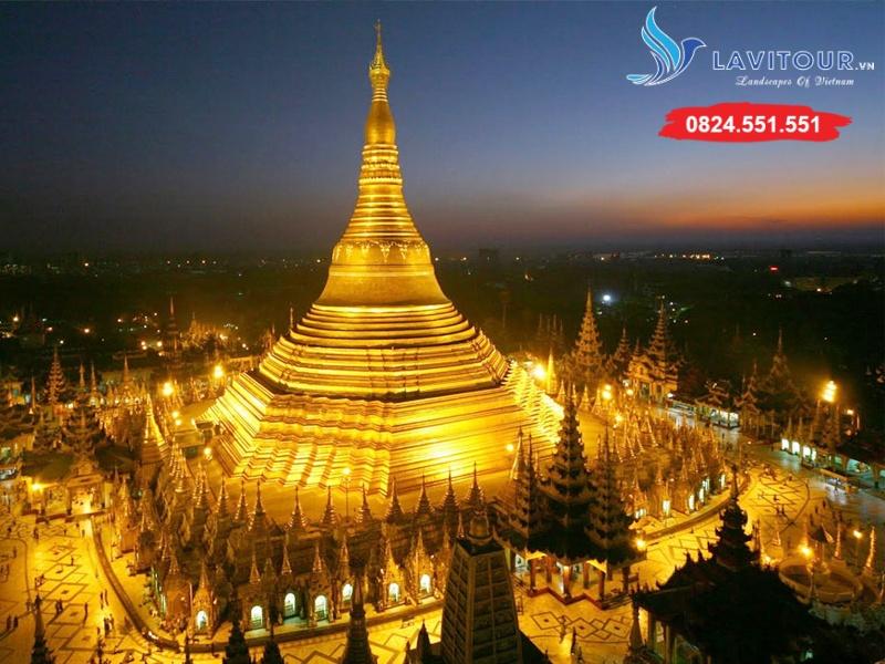 Tour Myanmar - Yangon - Về Miền Đất Phật 4n3đ 2