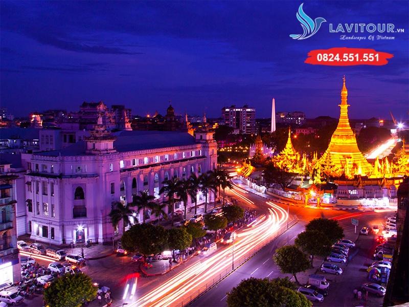 Tour Myanmar - Yangon - Về Miền Đất Phật 4n3đ 4
