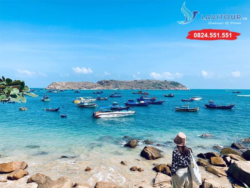 Tour Quy Nhơn - Biển Kỳ Co - Eo Gió 3n2đ 4