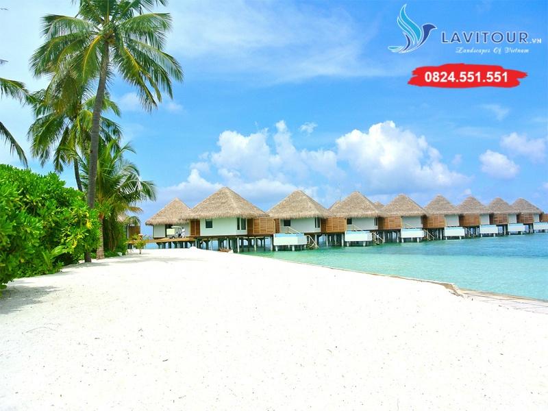 Tour Maldives - Thiên Đường Biển Á Châu 4n3đ 4