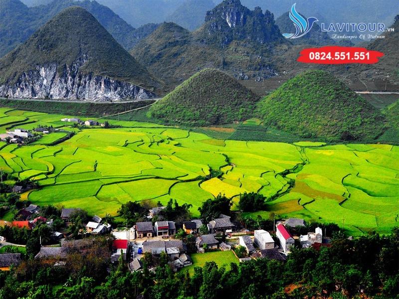 Tour Sài Gòn - Hà Nội - Hà Giang - Lũng Cú 4n3đ 3
