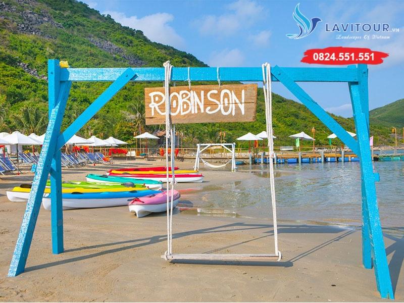Tour Nha Trang - Dốc Lết - Đảo Robinson 3n3đ 1