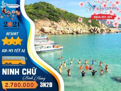Tour Tết AL 2021 - Ninh Chữ - Bình Hưng 3n2đ 1