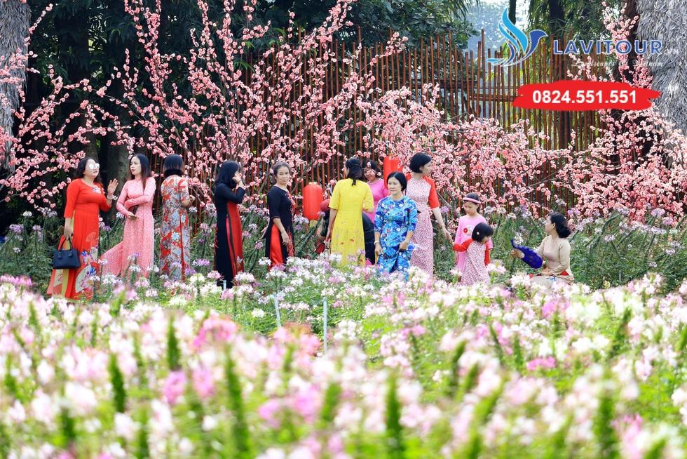 Vườn hoa đẹp tại Sài Gòn - nơi check in tuyệt vời 3