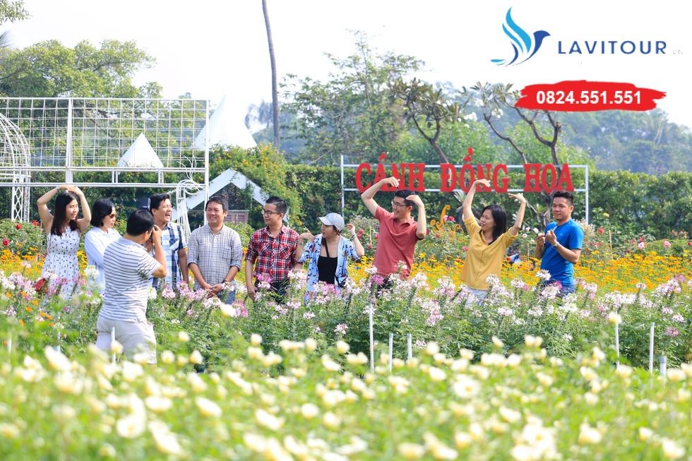 Vườn hoa đẹp tại Sài Gòn - nơi check in tuyệt vời 7