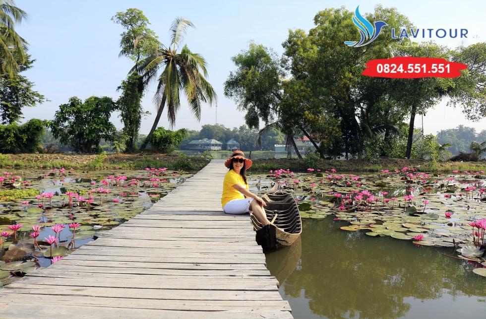 Vườn hoa đẹp tại Sài Gòn - nơi check in tuyệt vời 4