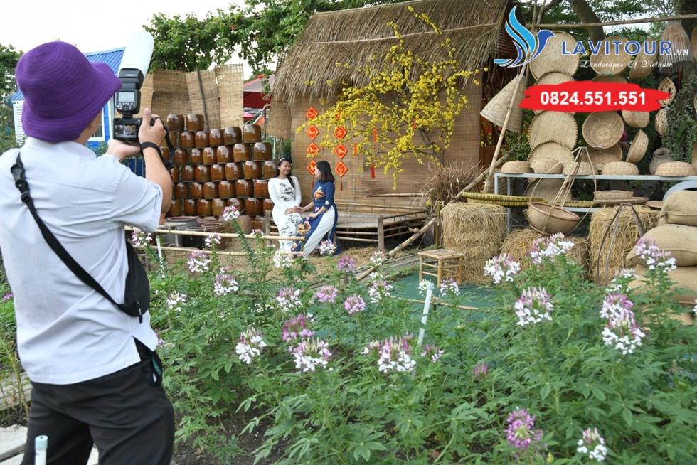 Vườn hoa đẹp tại Sài Gòn - nơi check in tuyệt vời 8