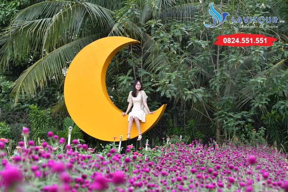 Vườn hoa đẹp tại Sài Gòn - nơi check in tuyệt vời 6